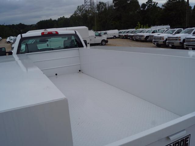 2018 Silverado 3500 Regular Cab DRW 4x4,  Monroe Service Body #TR69582 - photo 10