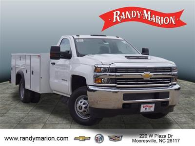 2018 Silverado 3500 Regular Cab DRW 4x4,  Monroe Service Body #TR69583 - photo 1