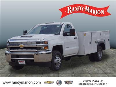 2018 Silverado 3500 Regular Cab DRW 4x4,  Monroe Service Body #TR69583 - photo 5