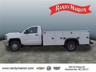 2018 Silverado 3500 Regular Cab DRW 4x4,  Monroe Service Body #TR69597 - photo 6