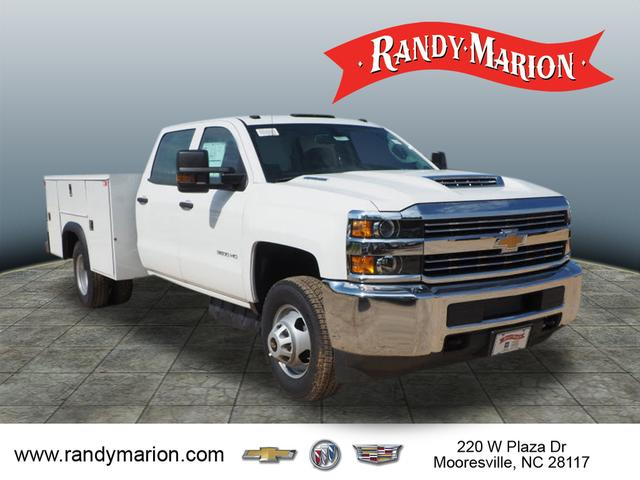 2018 Silverado 3500 Crew Cab DRW 4x2,  Reading Service Body #TR70352 - photo 8