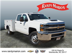 2018 Silverado 3500 Crew Cab DRW 4x2,  Reading Service Body #TR70352 - photo 1