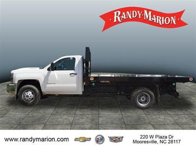 2019 Silverado 3500 Regular Cab DRW 4x2,  Knapheide Value-Master X Platform Body #TR70464 - photo 5