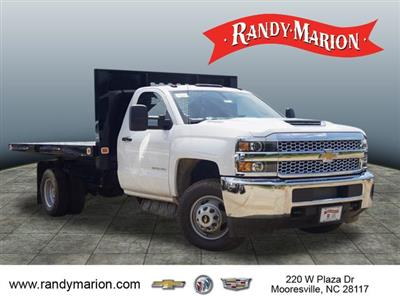 2019 Silverado 3500 Regular Cab DRW 4x2,  Knapheide Value-Master X Platform Body #TR70494 - photo 1