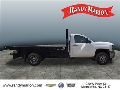 2019 Silverado 3500 Regular Cab DRW 4x2,  Knapheide Value-Master X Platform Body #TR70494 - photo 8