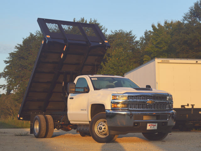 2019 Silverado 3500 Regular Cab DRW 4x2,  Knapheide Value-Master X Platform Body #TR70496 - photo 9