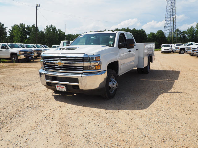 2018 Silverado 3500 Crew Cab DRW 4x2,  Reading Service Body #TR70503 - photo 4