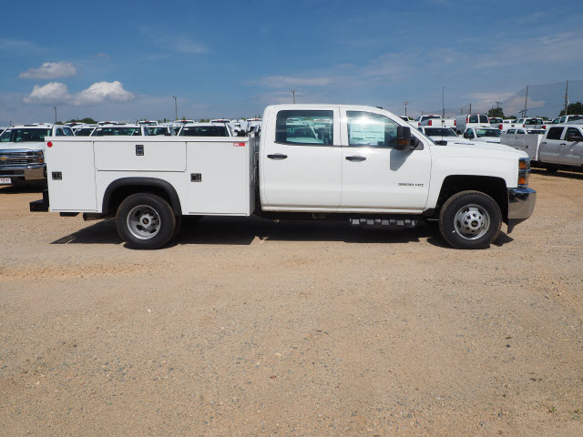 2018 Silverado 3500 Crew Cab DRW 4x2,  Reading Service Body #TR70503 - photo 7