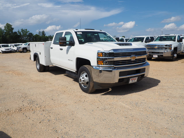 2018 Silverado 3500 Crew Cab DRW 4x2,  Reading Service Body #TR70503 - photo 8