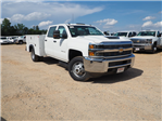 2018 Silverado 3500 Crew Cab DRW 4x2,  Reading Service Body #TR70503 - photo 1