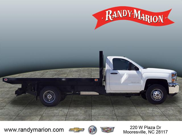 2019 Silverado 3500 Regular Cab DRW 4x4,  Knapheide Value-Master X Platform Body #TR70875 - photo 8