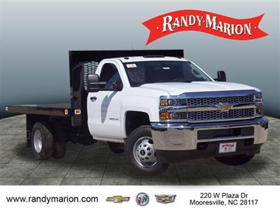 2019 Silverado 3500 Regular Cab DRW 4x4,  Knapheide Value-Master X Platform Body #TR70875 - photo 1