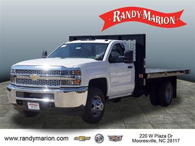 2019 Silverado 3500 Regular Cab DRW 4x4,  Knapheide Value-Master X Platform Body #TR70875 - photo 4