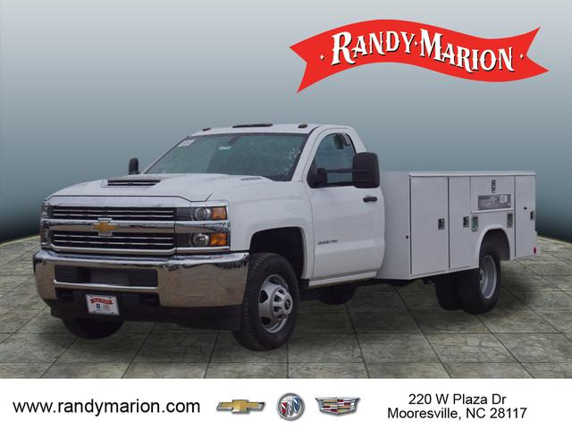 2018 Silverado 3500 Regular Cab DRW 4x2,  Reading Service Body #TR71000 - photo 4