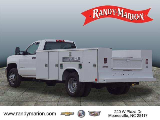 2018 Silverado 3500 Regular Cab DRW 4x2,  Reading Service Body #TR71000 - photo 6