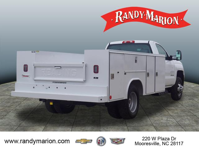 2018 Silverado 3500 Regular Cab DRW 4x2,  Reading Service Body #TR71000 - photo 2