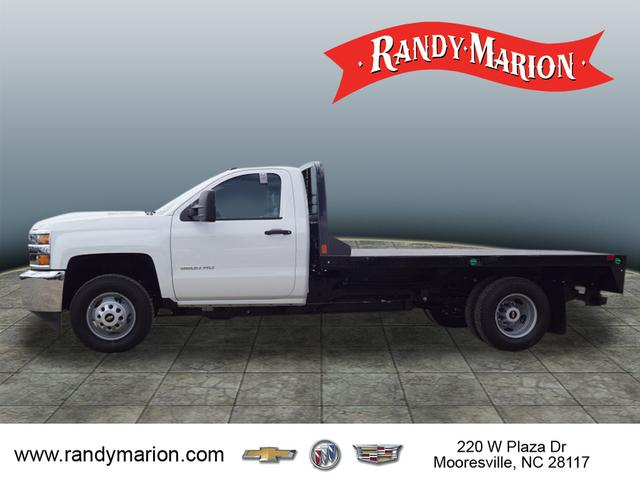 2019 Silverado 3500 Regular Cab DRW 4x4,  CM Truck Beds Platform Body #TR71078 - photo 5