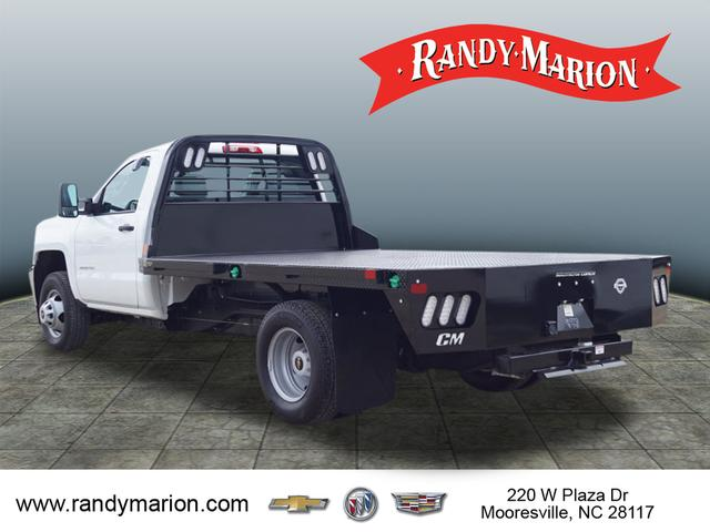 2019 Silverado 3500 Regular Cab DRW 4x4,  CM Truck Beds Platform Body #TR71078 - photo 6