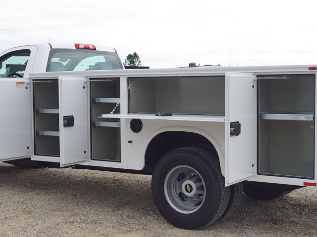 2019 Silverado 3500 Regular Cab DRW 4x4,  Knapheide Standard Service Body #TR71171 - photo 13