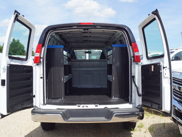 2019 Express 2500 4x2, Sortimo Shelf Staxx Upfitted Cargo Van #TR74908 - photo 2