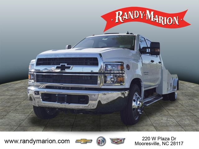 2019 Chevrolet Silverado 5500 Crew Cab DRW 4x2, CM Truck Beds ER Model Hauler Body #TR75542 - photo 4