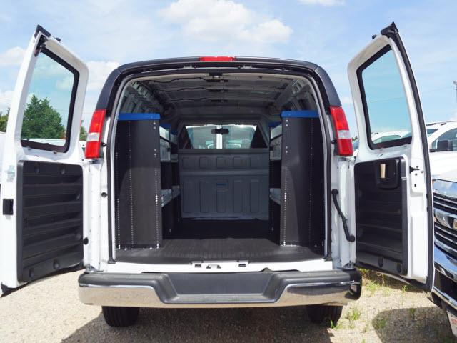 2019 Express 2500 4x2, Sortimo Shelf Staxx Upfitted Cargo Van #TR75576 - photo 2