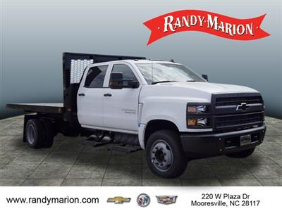 2019 Silverado 5500 Crew Cab DRW 4x2, Knapheide Value-Master X Platform Body #TR75944 - photo 1