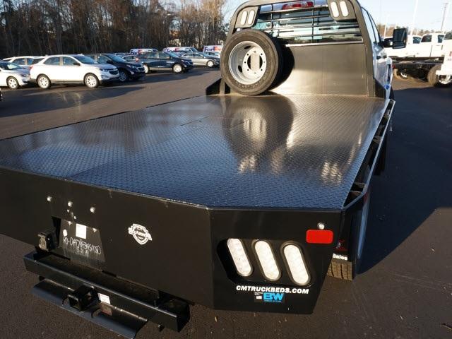 2019 Chevrolet Silverado 5500 Crew Cab DRW 4x2, CM Truck Beds Platform Body #TR76143 - photo 11