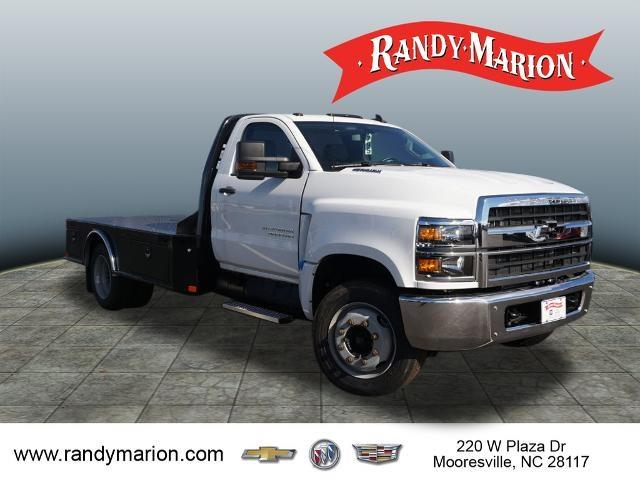 2019 Chevrolet Silverado 5500 Regular Cab DRW 4x2, CM Truck Beds Platform Body #TR77808 - photo 1