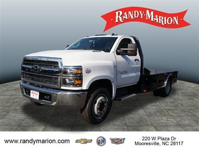2019 Chevrolet Silverado 5500 Regular Cab DRW 4x2, CM Truck Beds Platform Body #TR77808 - photo 4