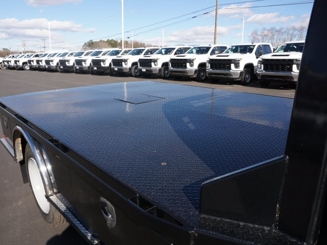 2019 Chevrolet Silverado 5500 Regular Cab DRW 4x2, CM Truck Beds Platform Body #TR77810 - photo 12