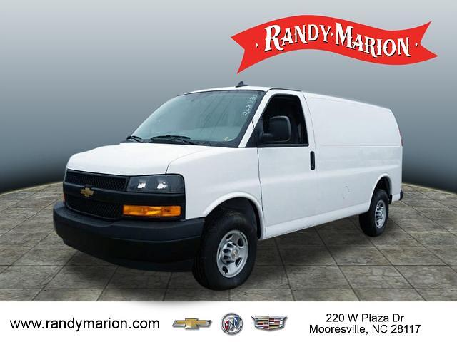 2020 Chevrolet Express 2500 4x2, Adrian Steel Commercial Shelving Upfitted Cargo Van #TR80429 - photo 4
