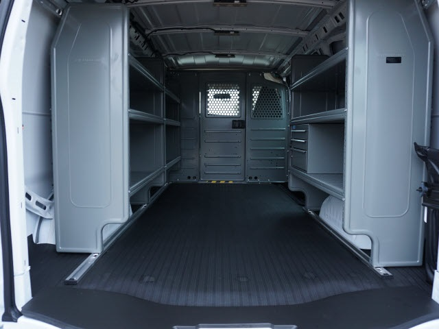 2020 Chevrolet Express 2500 4x2, Adrian Steel Commercial Shelving Upfitted Cargo Van #TR80834 - photo 2