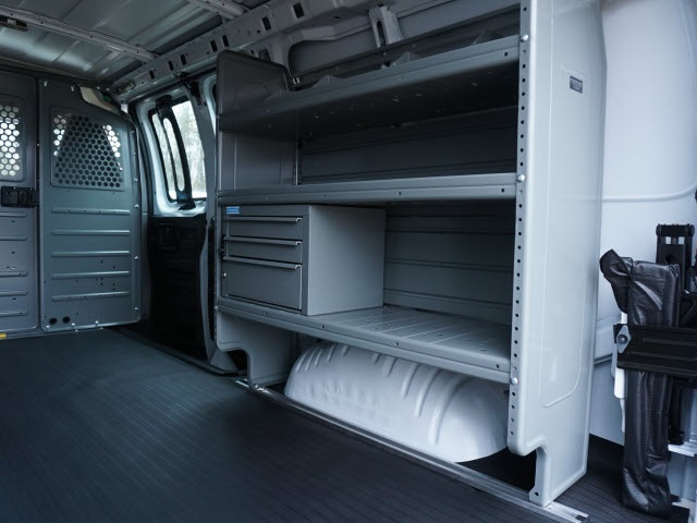 2020 Chevrolet Express 2500 4x2, Adrian Steel Commercial Shelving Upfitted Cargo Van #TR80837 - photo 12