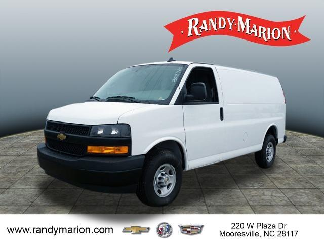 2020 Chevrolet Express 2500 4x2, Adrian Steel Commercial Shelving Upfitted Cargo Van #TR80959 - photo 4