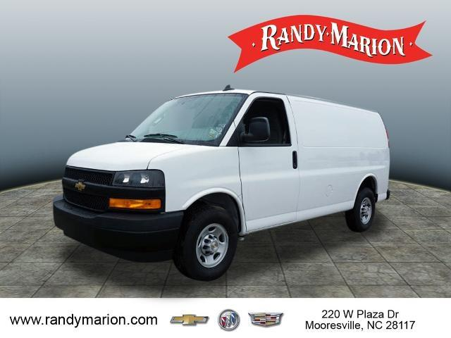 2020 Chevrolet Express 2500 4x2, Adrian Steel Commercial Shelving Upfitted Cargo Van #TR80963 - photo 4
