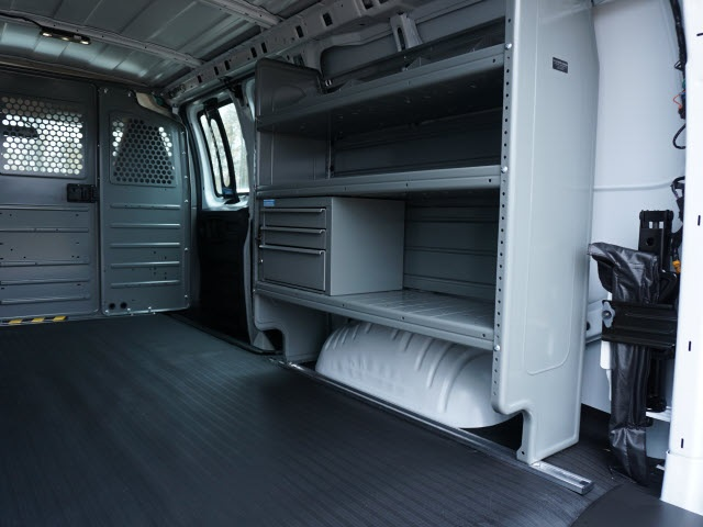 2020 Chevrolet Express 2500 4x2, Adrian Steel Commercial Shelving Upfitted Cargo Van #TR81578 - photo 12