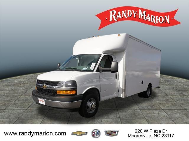 2020 Chevrolet Express 3500 DRW 4x2, Supreme Spartan Cargo Cutaway Van #TR81962 - photo 4
