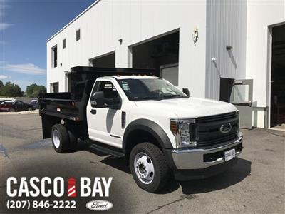 2018 F-550 Regular Cab DRW 4x4,  Dump Body #J1096 - photo 1