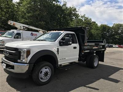 2018 F-550 Regular Cab DRW 4x4,  Dump Body #J1096 - photo 4
