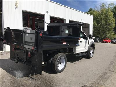 2018 F-550 Regular Cab DRW 4x4,  Dump Body #J1096 - photo 9