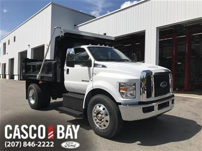2019 F-750 Regular Cab DRW 4x2,  Crysteel Landscape Tipper Landscape Dump #K009 - photo 1