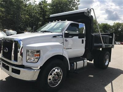 2019 F-750 Regular Cab DRW 4x2,  Crysteel Landscape Tipper Landscape Dump #K009 - photo 4