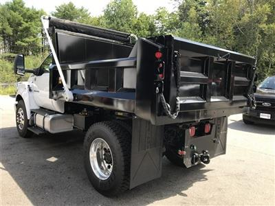 2019 F-750 Regular Cab DRW 4x2,  Crysteel Landscape Tipper Landscape Dump #K009 - photo 7
