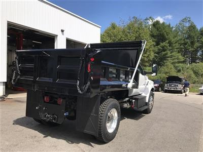 2019 F-750 Regular Cab DRW 4x2,  Crysteel Landscape Tipper Landscape Dump #K009 - photo 2