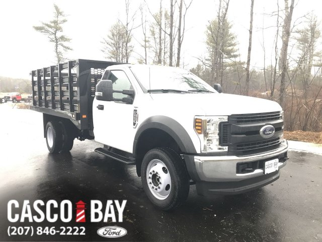 2019 F-550 Regular Cab DRW 4x4, Knapheide Stake Bed #K257 - photo 1