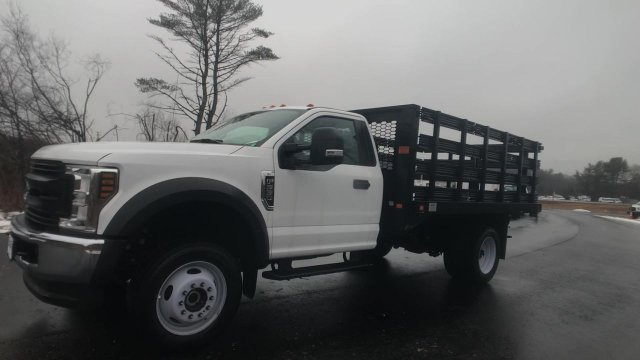 2019 F-550 Regular Cab DRW 4x4, Knapheide Value-Master X Stake Bed #K257 - photo 13