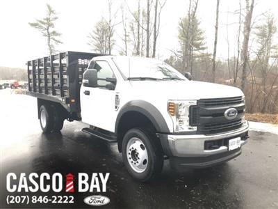 2019 F-550 Regular Cab DRW 4x4, Knapheide Value-Master X Stake Bed #K257 - photo 1