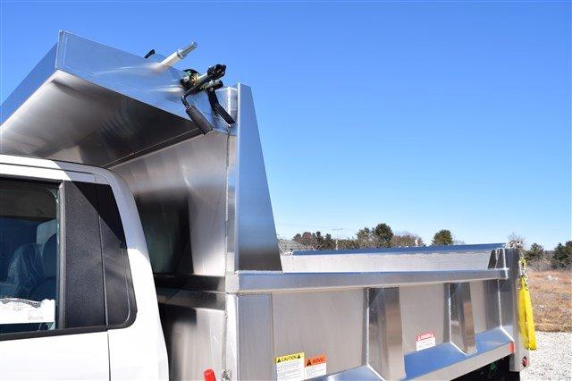 2019 F-550 Regular Cab DRW 4x4,  Iroquois Brave Series Stainless Steel Dump Body #K290 - photo 12