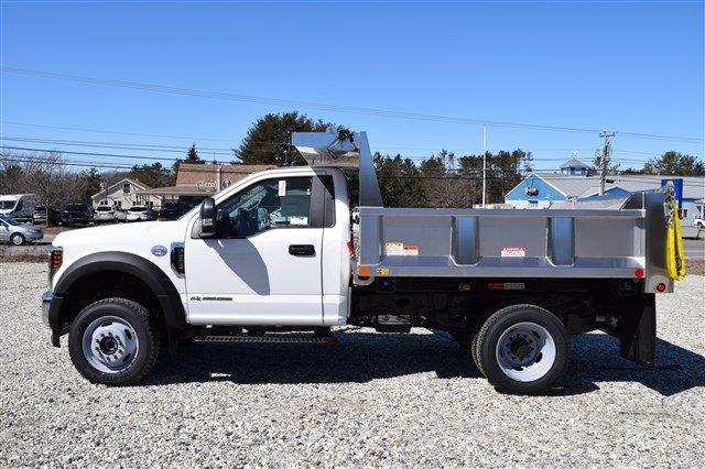 2019 F-550 Regular Cab DRW 4x4,  Iroquois Brave Series Stainless Steel Dump Body #K290 - photo 5